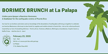 A Boozy Brunch for Earthquake Relief tickets