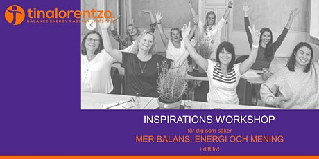 INSPIRATIONS WORKSHOP biljetter