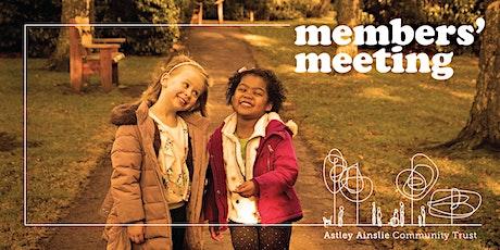 Members' Meeting – Astley Ainslie Community Trust tickets