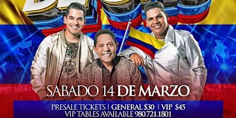El Binomio de Oro en Concierto en World Nightclub Charlotte, NC | 03.14.20 tickets