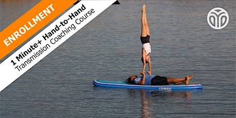 Enrollment Class  for Hand-to-Hand Accelerated Handstand Course (3 courses) tickets