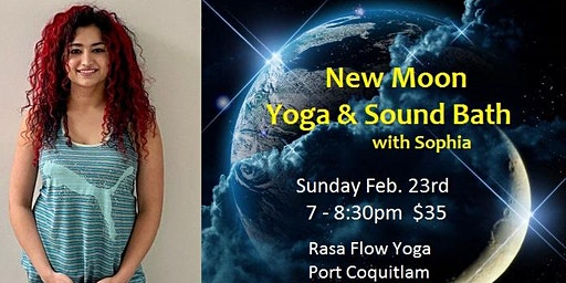 New Moon - Yoga & Sound Bath