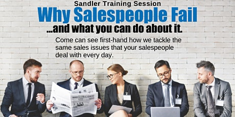 Why Sales People Fail & What To Do About It - Learning Breakfast Workshop tickets