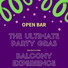Mardi Gras Balcony Experience  logo
