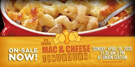 Mac & Cheese Throwdown STL tickets