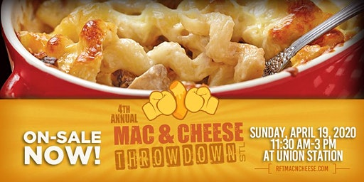 Mac & Cheese Throwdown STL