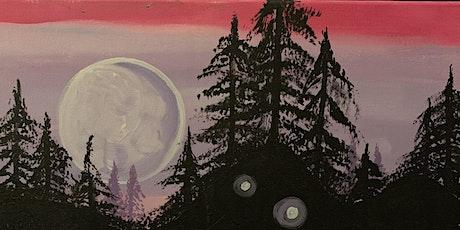 Paint & Potluck: Moonlit Forest tickets