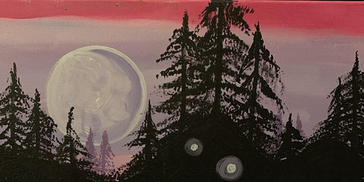 Paint & Potluck: Moonlit Forest