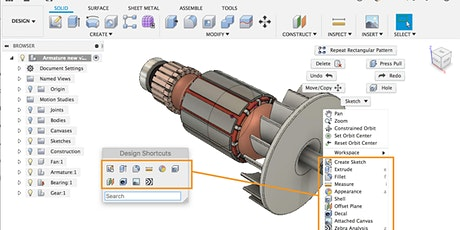 HATCH: Intro to Fusion 360 tickets