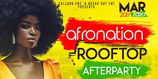 Afro-Nation Roof Top Party
