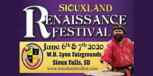 Siouxland Renaissance Festival - June 6 & 7, 2020