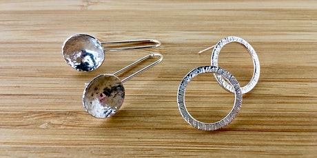 Make a Pair of Textured Silver Earrings tickets