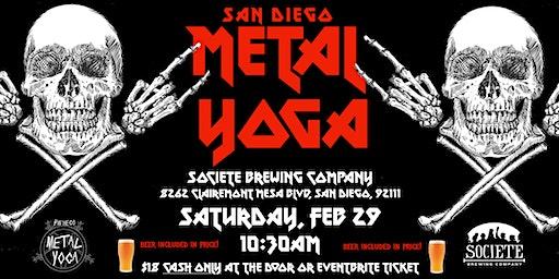 San Diego Metal Yoga 2/29