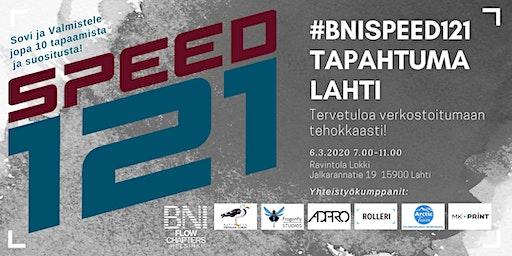 #BNISPEED121 Lahti!