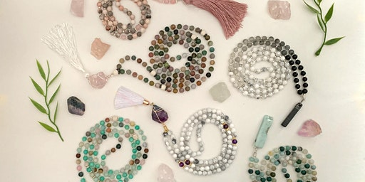DIY Mala Necklace Workshop