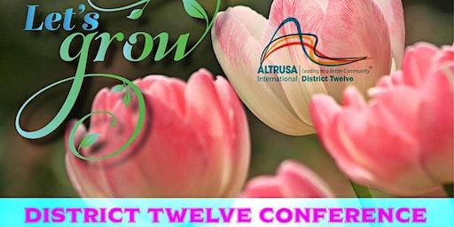 2020 Altrusa District Twelve Conference