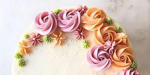 Floral Wreath Cake