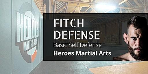 Jon Fitch Presents: Fitch Defense | Basic Self Defense Seminar