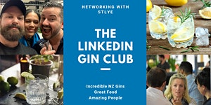 """The LinkedIn Gin Club - """"Networking In Style"""""""