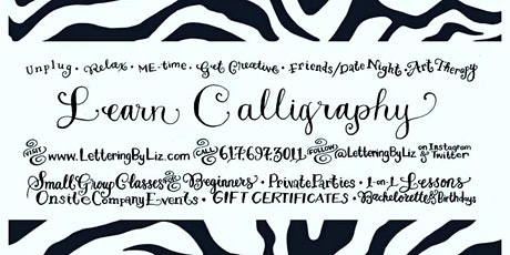 Level 2 Calligraphy Workshop in Boston: Envelope Art / Chalkboard & Mirror Lettering & more tickets