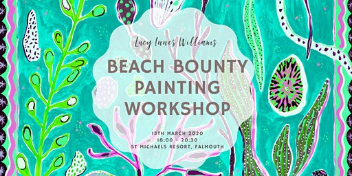 Beach Bounty Painting Workshop with Lucy Innes Williams