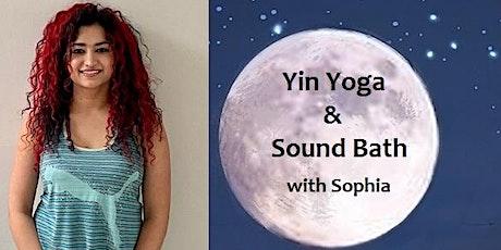Yin Yoga & Sound Bath tickets
