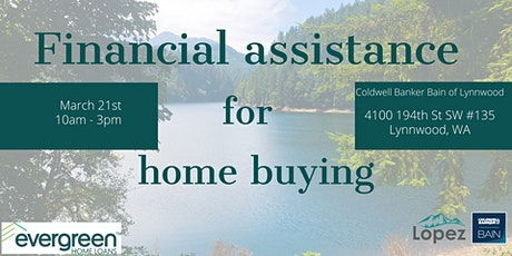 Financial assistance for home buying tickets