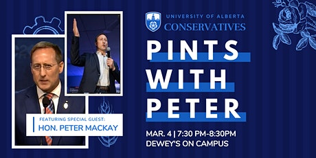 Pints with Peter: Pub Night With Hon. Peter MacKay tickets