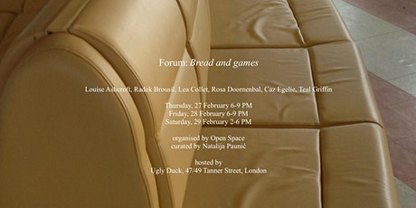 Forum: Bread and games tickets