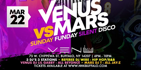 Venus VS Mars Sunday Funday Silent Disco tickets
