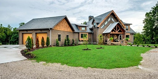 Free Log Home Tour of Log & Timber Homes