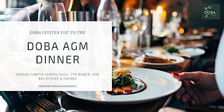 DOBA AGM Dinner tickets