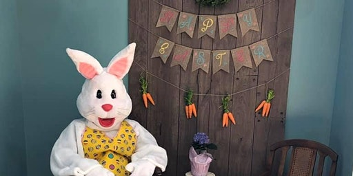 Easter Bunny and Easter Sundaes