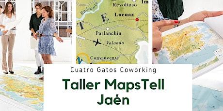 Taller MapsTell en Jaén entradas