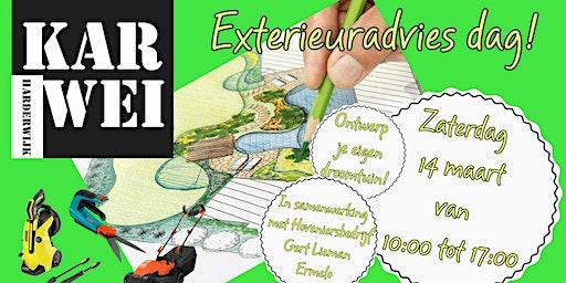 Tuin Exterieur Dag met Echte Hovenier!