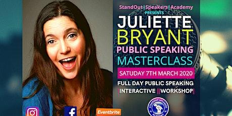 Public Speaking Masterclass - StandOut Speakers Academy tickets