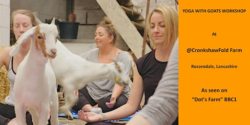 Yoga with Goats Workshop, North Manchester