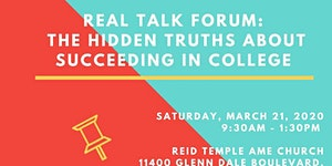 Real Talk Forum: The Hidden Truths about Succeeding in...