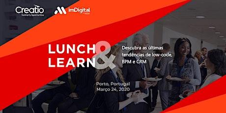 Evento Lunch&Learn: evento prático para líderes de vendas, marketing, serviços e TI bilhetes