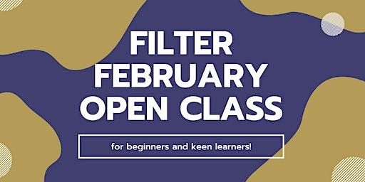 Filter February (OPEN CLASS)