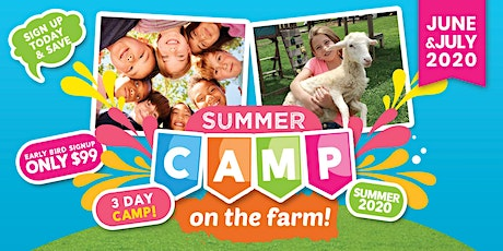 Summer Camp on the Farm tickets