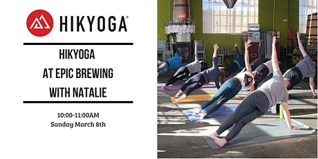 Hikyoga at Epic Brewing with Natalie tickets