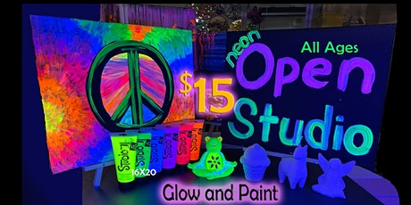 Open Studio UV paint and materials tickets
