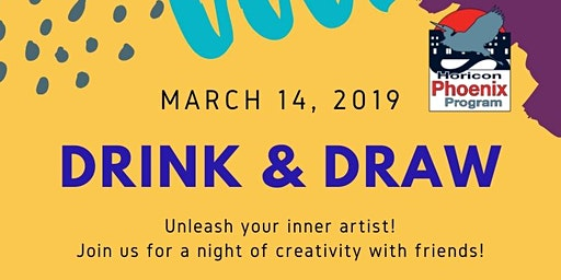 2020 Horicon Phoenix Program Cabin Fever Series: Drink & Draw!