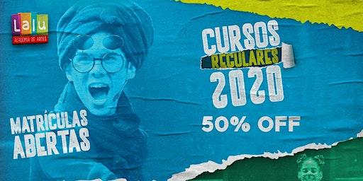 Última chance de se matricular na Lalu com 50% De Desconto!