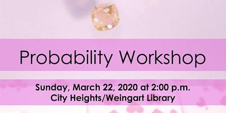 [All Girls STEM Society] Probability Workshop - March 22, 2020 tickets