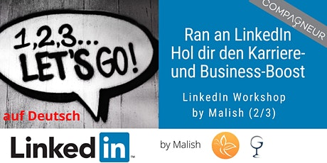 Ran an LinkedIn –	Hol dir den Karriere und Business Boost Tickets
