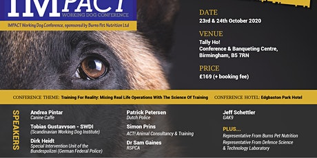 IMPACT Working Dog Conference 2020 tickets