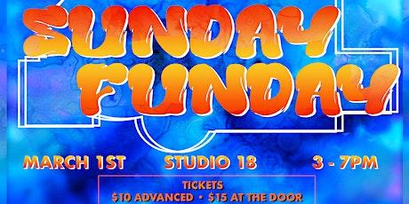 Studio 18: SUNDAY FUNDAY tickets