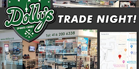 Dolly's Sports Cards Downtown Trade Night tickets
